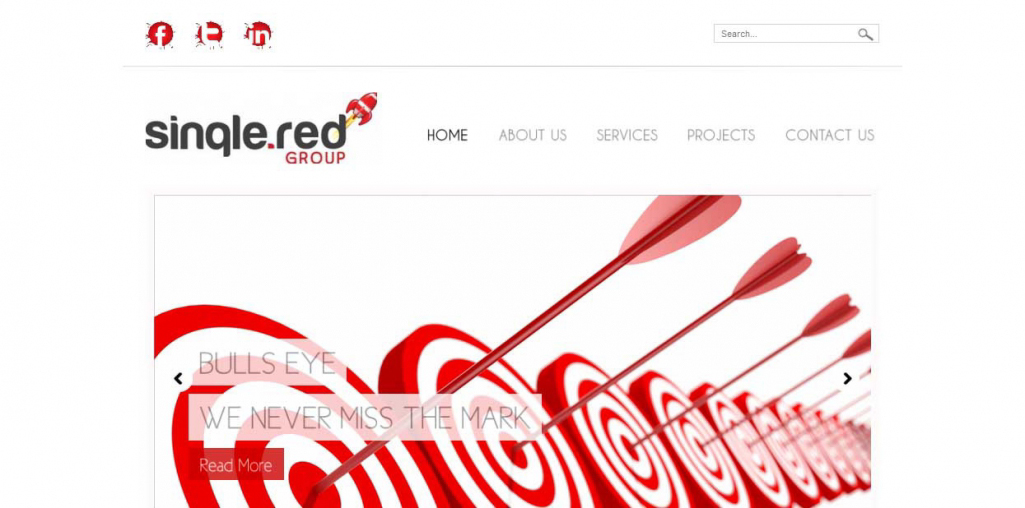 Single-Red-Group-Website-Home-Page